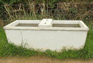 click for Cattle drinking troughs