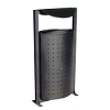 71.141-Malthouse-Litter-Bin-Galvanised-PC