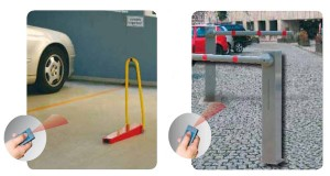 traffic barriers and bollards