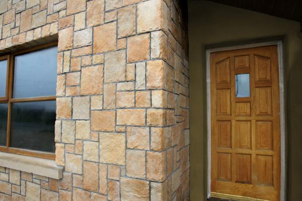 Stonewrap external wall