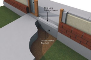 The Killeshal Concrete Threshold in-situ