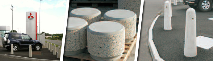 Precast Concrete Bollards - Concrete Bollards - Bollards