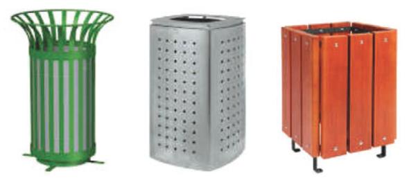Decorative bins