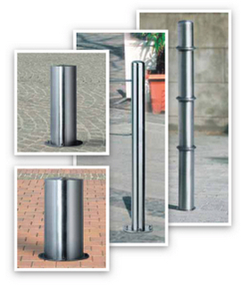 Steel Bollards collage