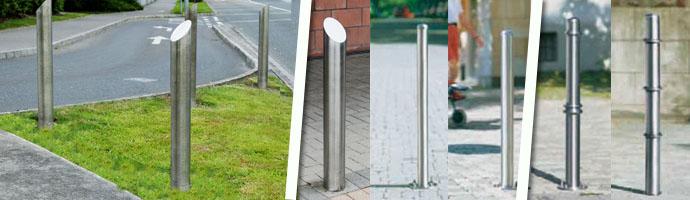 Steel Bollards - lockable steel bollards - Killeshal