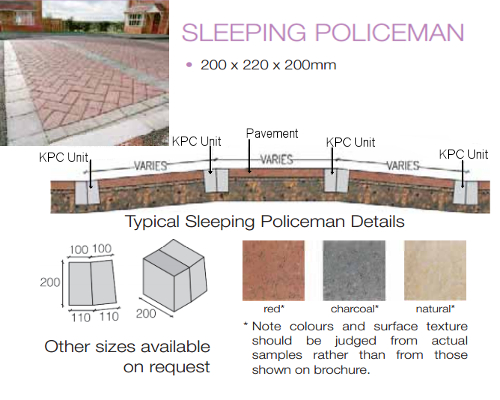 traffic calming - sleeping policemen