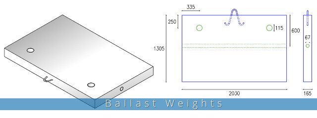 Crane Ballast Weights