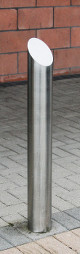 slash-top bollard
