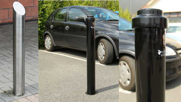 steel bollards range