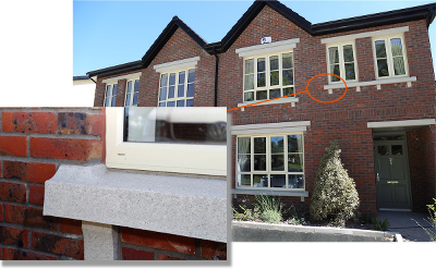 Reconstituted Stone Window Sills