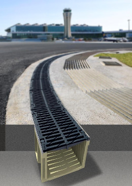 curved line drainage