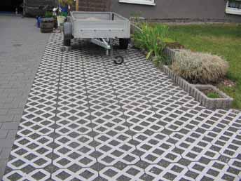 Grass Blocks for Parking