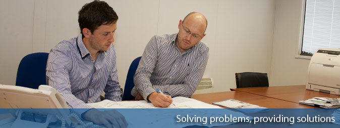 Technical Sales Staff solving Problems