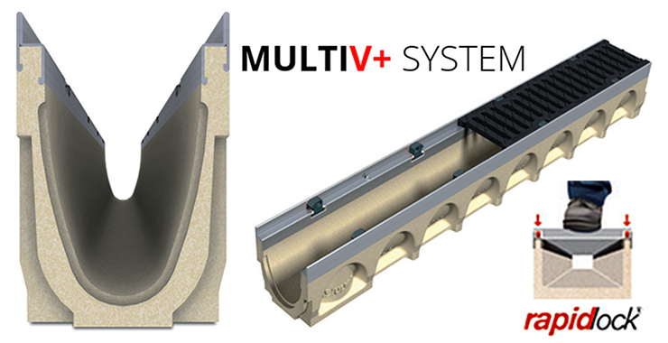 line drainage systems MultiV
