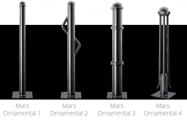 Mars Ornamental Steel Bollards 1