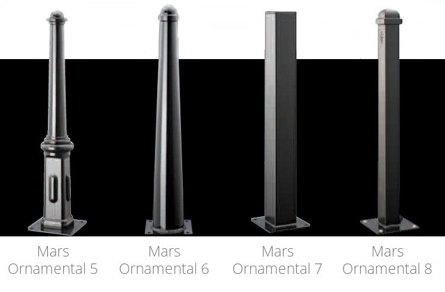 Mars Ornamental Steel Bollards 2